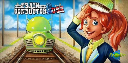 Train Conductor 2 USA - apk игра для Android 2.1