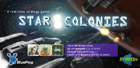 Star Colonies - apk игра стратегия для Андроид 2.1