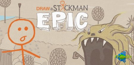 Draw a Stickman EPIC - прикольная apk игра для Андроид 2.3