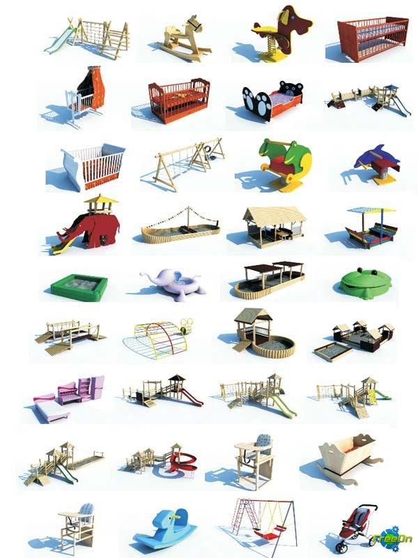 Детские Площадки Модели