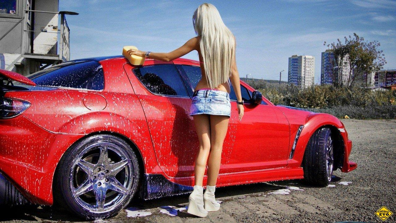 Правильное фото девушки с машиной